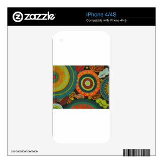 Flower Patch iPhone 4S Skin