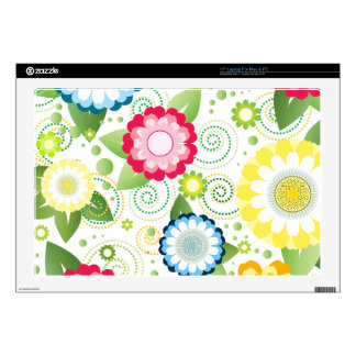 Flower Patch Skins For Laptops