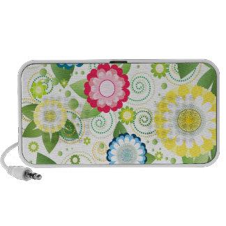 Flower Patch Laptop Speaker