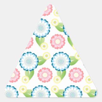 Flower Patch Triangle Sticker