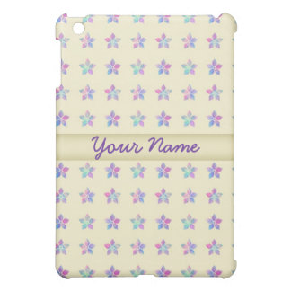 Flower Patch Yellow Pern Cover For The iPad Mini