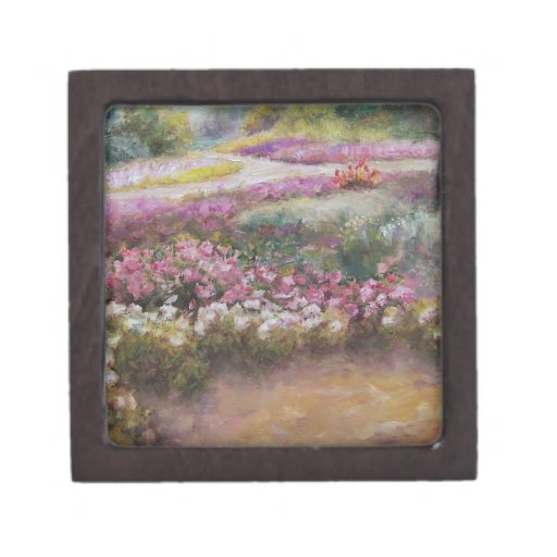 Flower Path Premium Keepsake Box