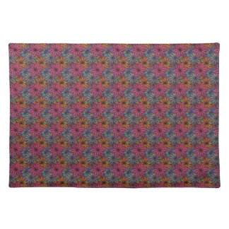 Flower Pattern #01 Cloth Placemat