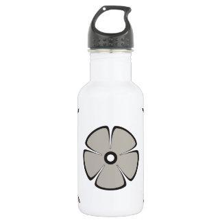 Flower Pattern 2 Aluminum 18oz Water Bottle