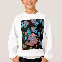 flower pattern 2 sweatshirt