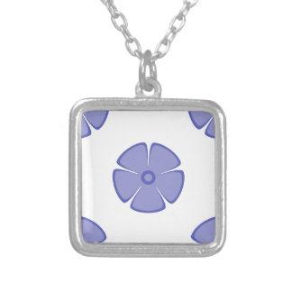 Flower Pattern 2 Violet Tulip Jewelry