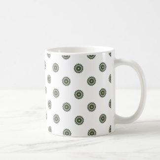 Flower Pattern 4 Cypress Coffee Mug