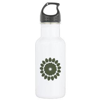 Flower Pattern 4 Cypress Stainless Steel Water Bottle