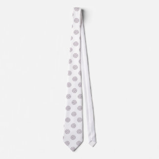 Flower Pattern 6 Sea Fog Tie