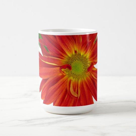 Flower Pattern Customizable Coffee Mug