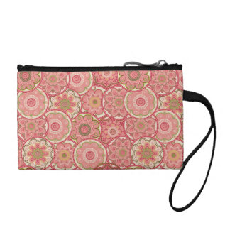 Flower Pattern Four Coin Purses