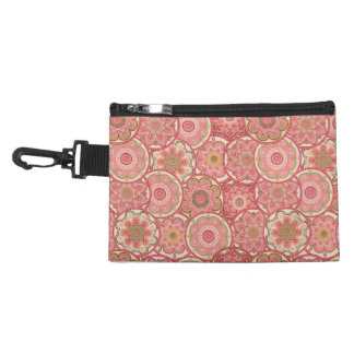 Flower Pattern Four Accessories Bag