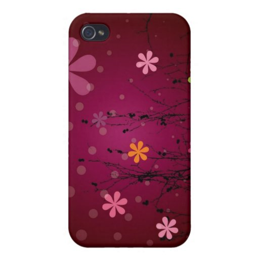 Flower Pattern iPhone Case iPhone 4/4S Case