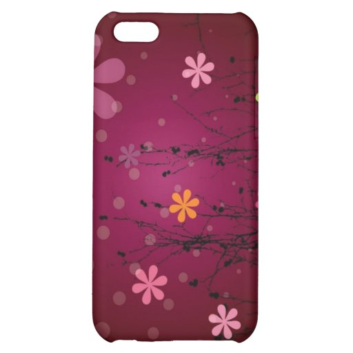 Flower Pattern iPhone Case iPhone 5C Cases