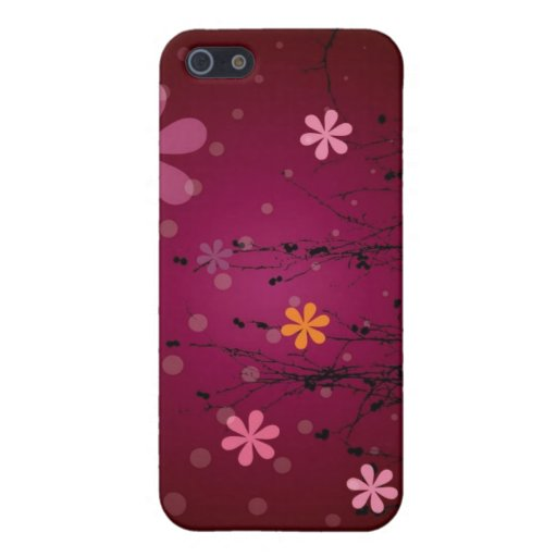 Flower Pattern iPhone Case Cover For iPhone 5