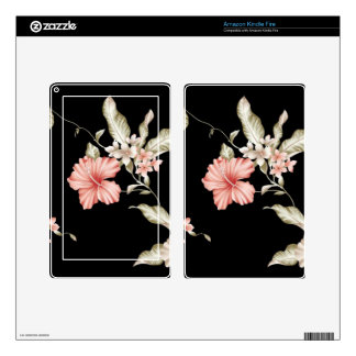 flower pattern kindle fire decal