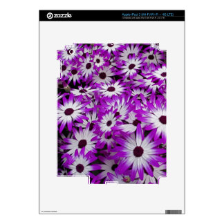 Flower pattern, Kuekenhof Gardens, Lisse, Decal For iPad 3