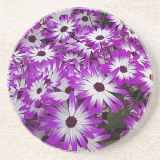 Flower pattern, Kuekenhof Gardens, Lisse, Drink Coaster