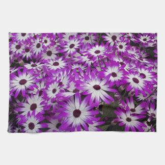 Flower pattern, Kuekenhof Gardens, Lisse, Hand Towel