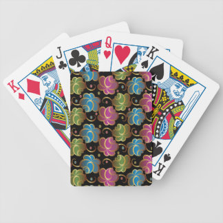 Flower Pattern one Bicycle Playing Cards
