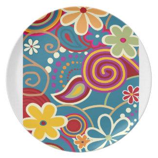 Flower Pattern Plate