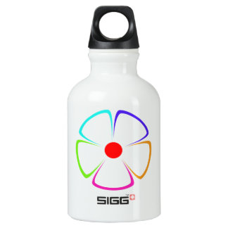 flower pattern rainbow SIGG traveler 0.3L water bottle