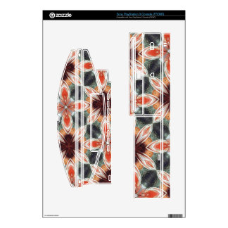 Flower Pattern Skin For PS3 Console