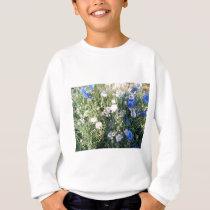 Flower Pattern Sweatshirt