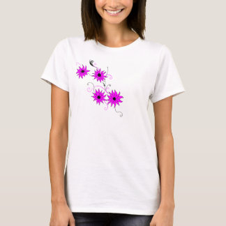 Flower pattern top. T-Shirt