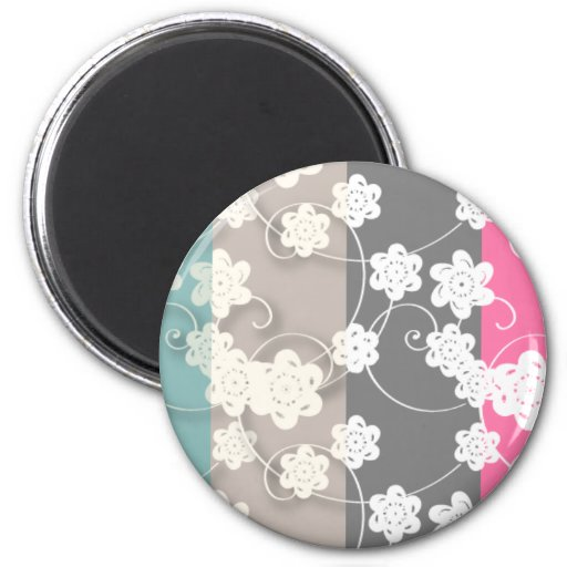 flower_patterns refrigerator magnets