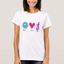 Flower Peace Love Vape T-Shirt