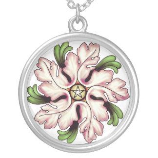Flower Pentagram Necklace