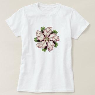 Flower Pentagram T Shirt