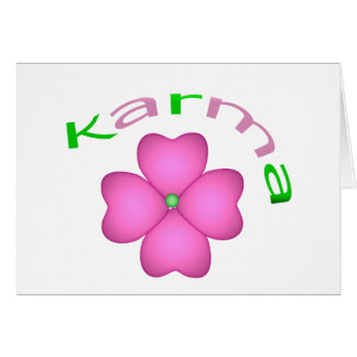 Flower Petal - Karma Card
