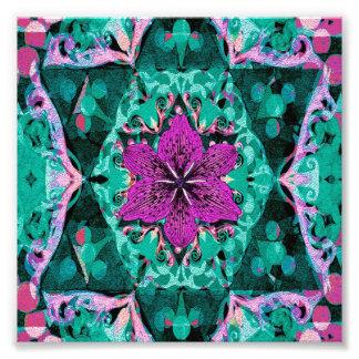 Flower Petal Mandala Design Art Photo