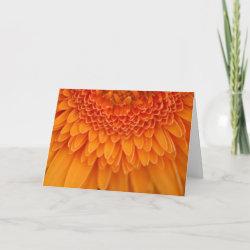 Flower Petal Thank You Card