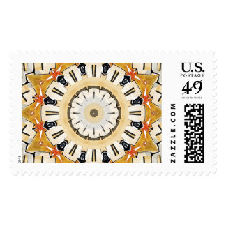 Flower Petals Abstract Postage Stamps