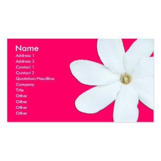 Flower Petals - Customized Business Card Template