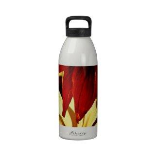 Flower Petals Drinking Bottles