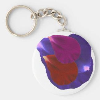 Flower Petals Keychain