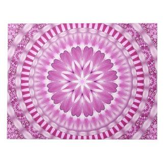 Flower Petals Mandala Notepad