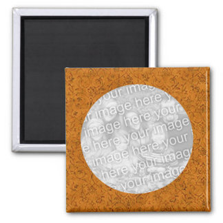 Flower Photo Magnet Template