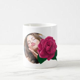 Flower photo mug