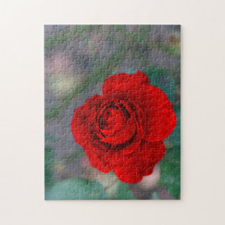 Flower Photo Puzzle with Gift Box