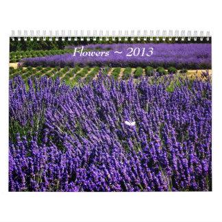 Flower Photographs 2013 Calendar