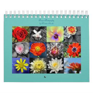 Flower Photography Calendar