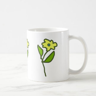 flower picture coffee mug