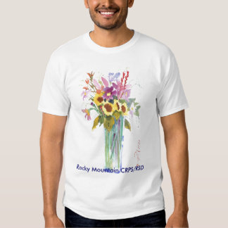 Flower Picture, Rocky Mountain CRPS/RSD T-Shirt