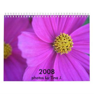 Flower Pictures Calendar