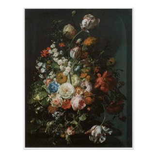 Flower Piece, 1701 Poster